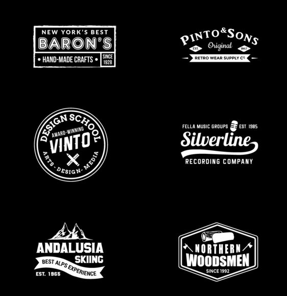 30 Free Modern Insignia Logo Badge Templates Updated For 2018