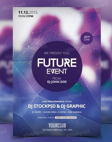 Future Event – PSD Flyer Freebie