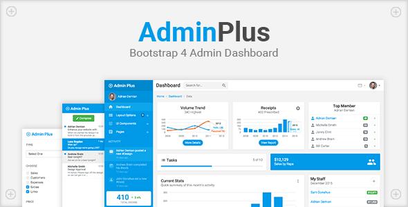 AdminPlus Lite Bootstrap Theme