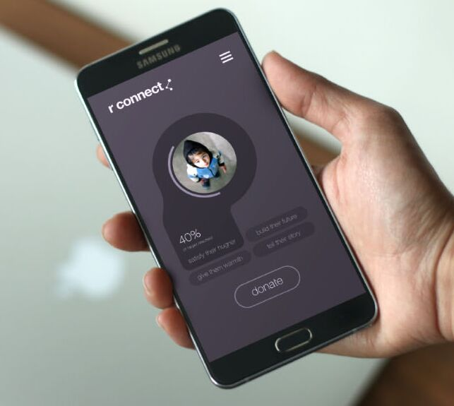 Android Device App Mockup