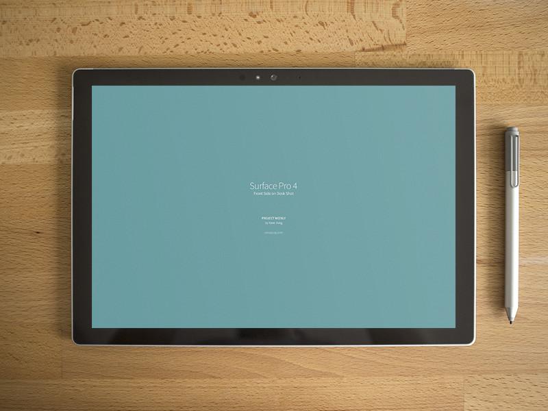 Brand New Surface Pro 4 Mockup PSD