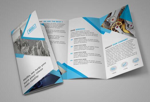 FREE Tri fold Brochure Template DOWNLOAD