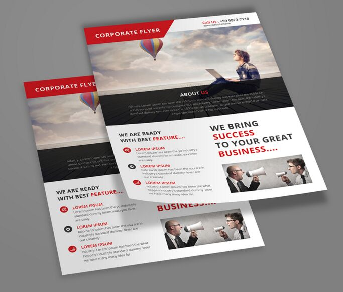 100 High Quality Free Flyer And Brochure Mock Ups 2018