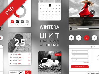 Free UI Starter Kit – Wintera