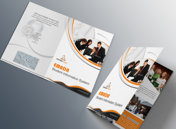 100 high quality free flyer and brochure mock ups for 2 fold brochure template psd