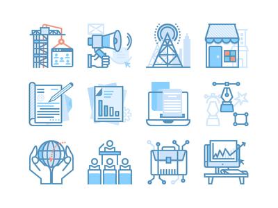 SEO & Web Marketing Icons
