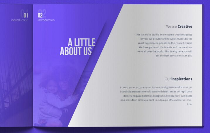 Carsive - 18 Pages Brochure Freebie