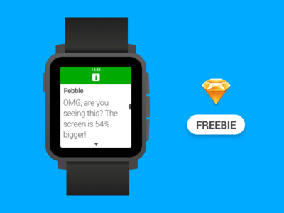 Pebble Time 2 New Free Sketch File