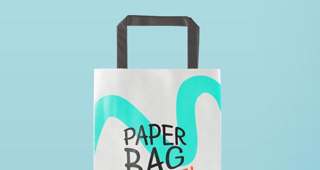 Psd Paper Bag Mockup Vol2