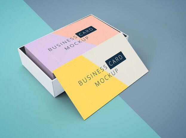 Business Cards Mockup Vol13