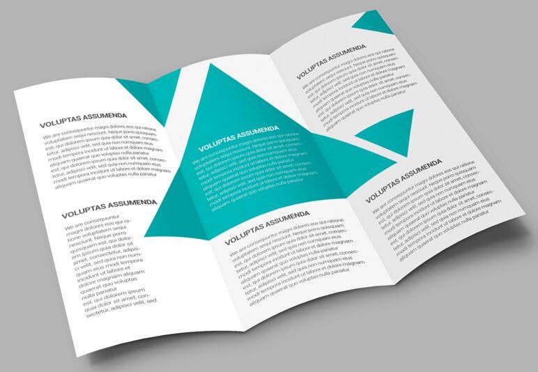 Simple & Clean brochure mockup freebie