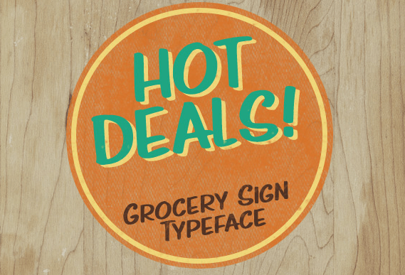 Hot Deals Font