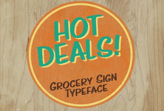 Hot Deals Font