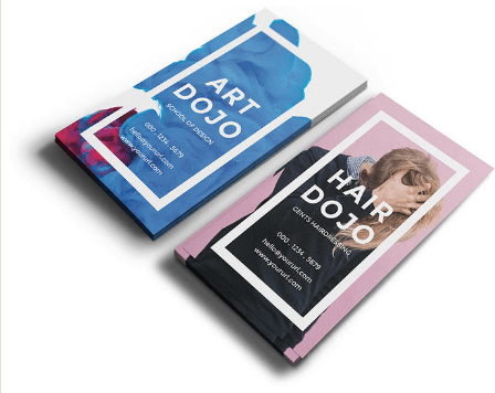 Dojo - Free Vertical Business Card PSD