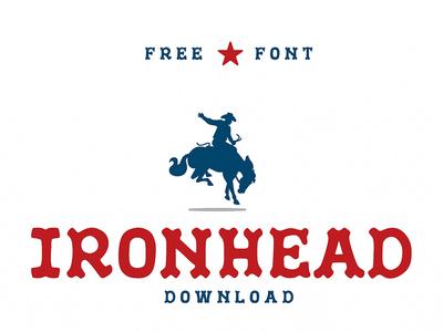 IronHead Free Font Download
