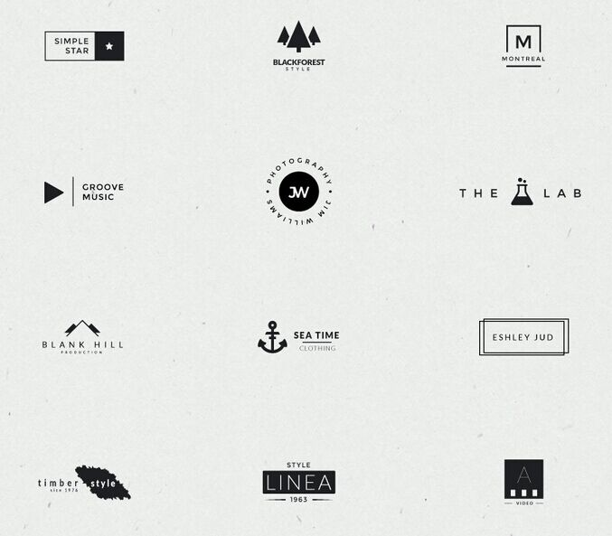 minimal-logos-collection