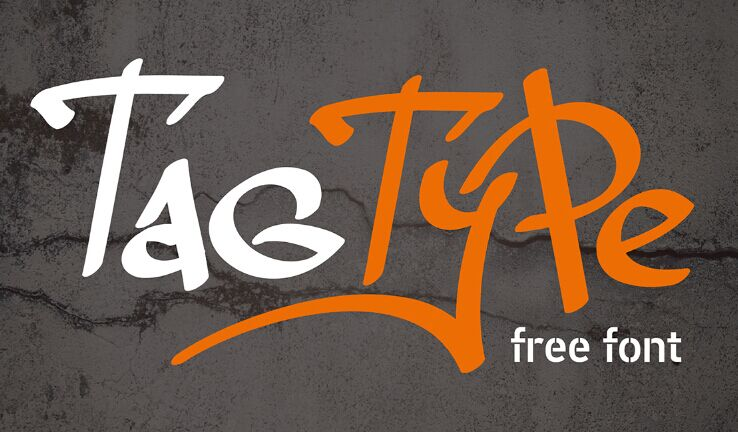 Tag Type - Free Font