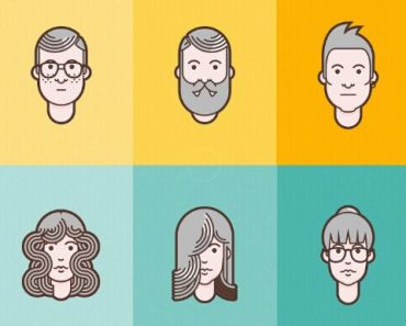 material-design-flat-avatar-set