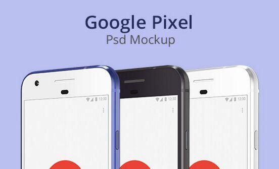 google-pixel-psd-mockup
