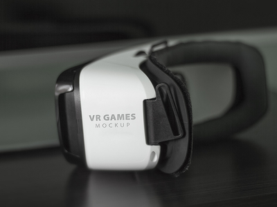 VR Games Mockup
