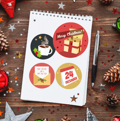 christmas-advent-icon-set