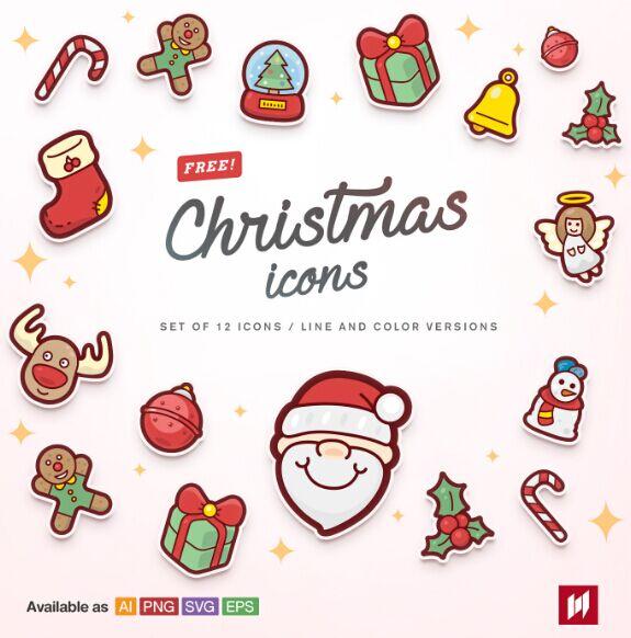 free-christmas-icons