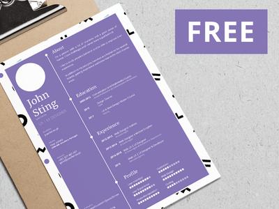 free-minimalist-resume-template