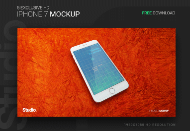 Iphone7 Mockup Free Download