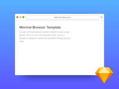 Minimal Browser Template