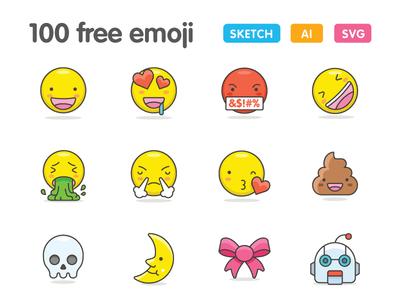 100 Free & Cute Emoji
