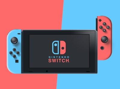 Nintendo Switch - Vectorial concept design