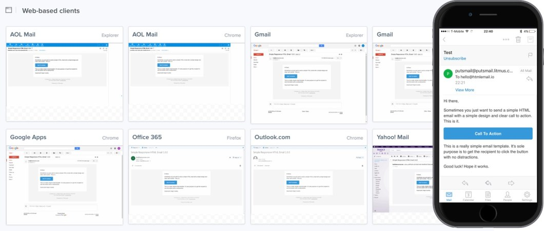 Really Simple Responsive HTML Email Template