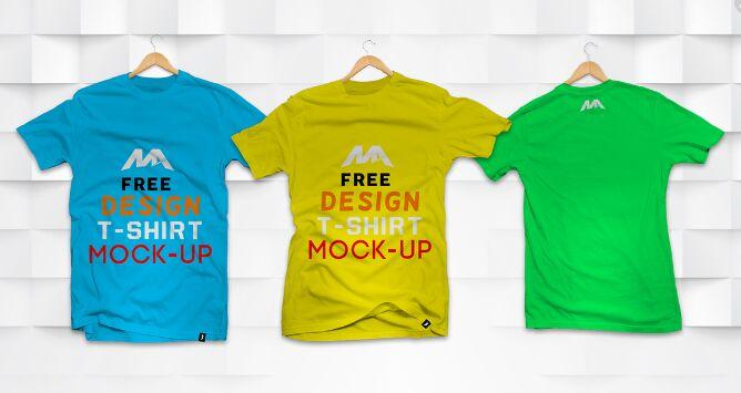 T-shirt PSD Mock-up