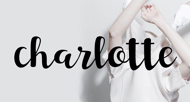 Charlotte Script Font