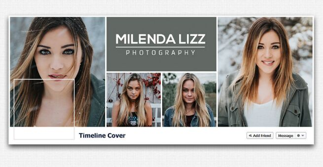 Free Facebook Cover Timeline Template For Fashion Magazine