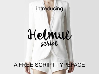 Helmut - Free Font