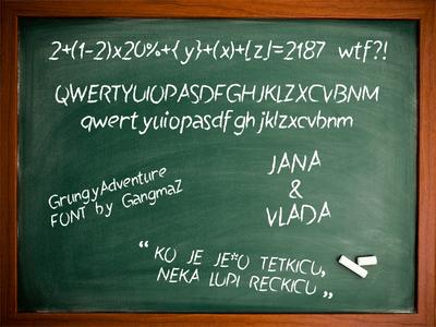 Sarma Chalkboard Font