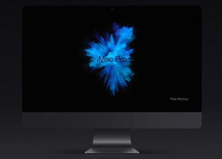iMac Pro Psd Mockup Template