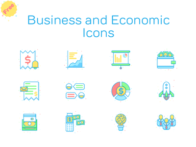 Free Business and Economic Icons