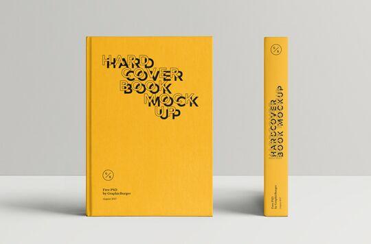 Hardcover Book MockUp #2