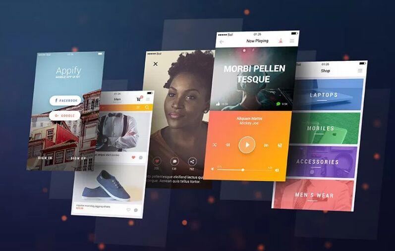 25+ Free Elegant App Screen Mock-ups For Mobile App