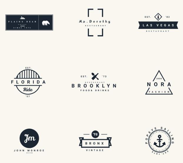 Vector Vintage Logos