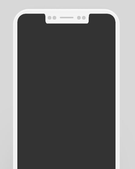 iPhone 8 Flat Template