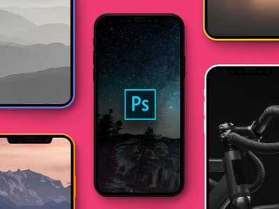 iPhone 8 Mockup PSD Freebie