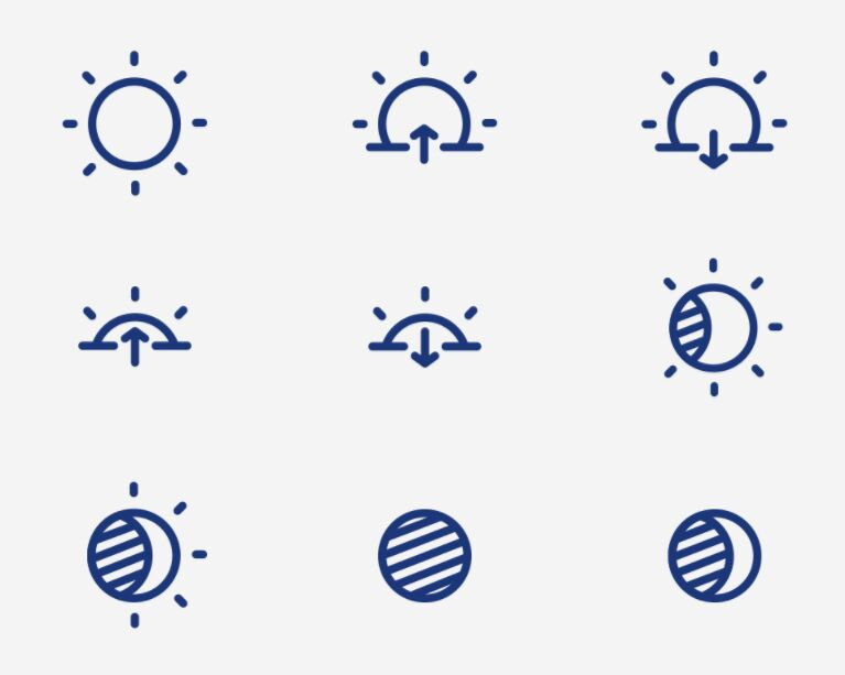 Weather Vector Iconset