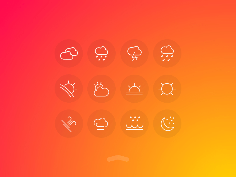 Weather UI Free Icons