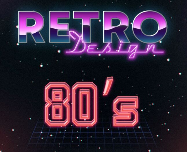 10 Free 80s Text Effects-min