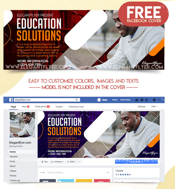 Education Solutions – Free Facebook Cover
