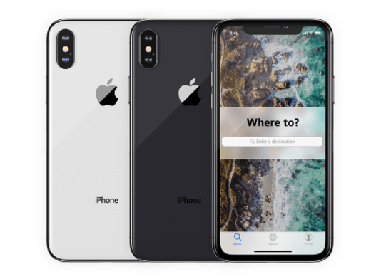 iPhone X - Free 4K PSD Mockups