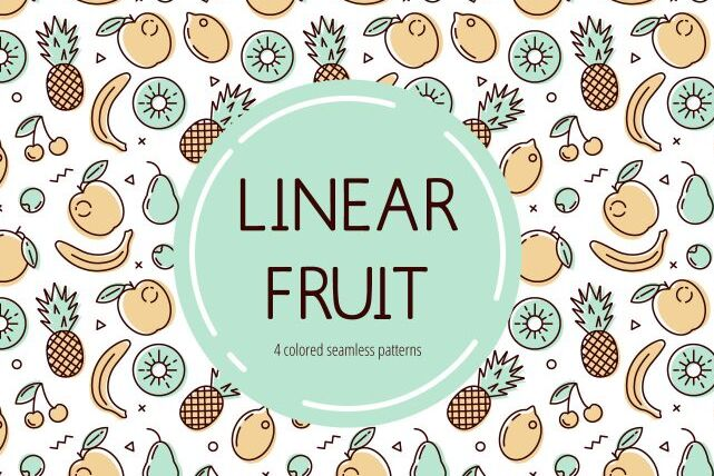 Free Fruit Vector Pattern